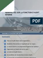 1.1 Generalites Sur La Fonction Audit Interne - Definitions