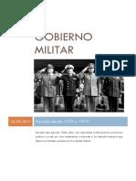 Gobierno Militar de Chile