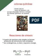 Reacciones químicas - 1158856
