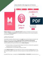 04-06-2019 Con esta app mujeres estarán más seguras en Sonora-Unotv