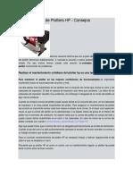 Manual de Mantenimiento de Plotters HP