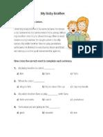 Reading Comprehension Materials