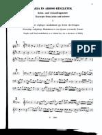 Arias Bach. Modulación Por 5ª