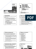 Bu3 Lecture1 Fundamentals of Acoustics