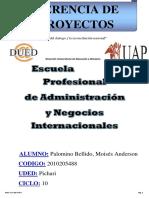 TRABAJO  DE GERENCIA DE PROYECTOS.docx