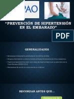 4. Prevención de Hipertensión en El Embarazo