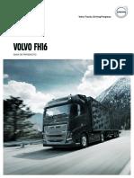 Volvo Fh16 Product Guide Euro6 Es Es