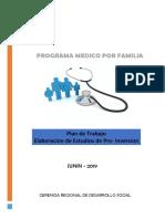 PLAN de TRABAJO Medicos Por Familia