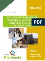 28. estudio de demanda de vivienda nueva de  tarapoto.pdf