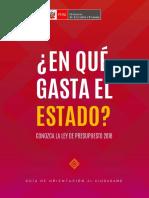 LEY DE PRESUPUESTO 2018