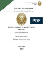 Sistemas Socialista y Capitalista