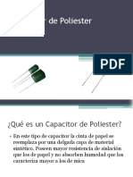 Capacitor de Poliester