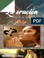 La Oracion Como Estilo de Vida
