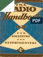 1936 Radio Handbook