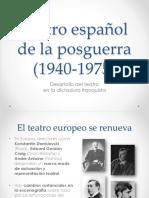 08 Teatro Español de La Posguerra (1940-1975)
