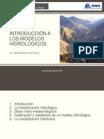 Introducción a Los Modelos Hidrológicos