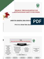 Kebijakan Perumahsakitan & Akreditasi RS Di Indonesia - Dirjen BUK