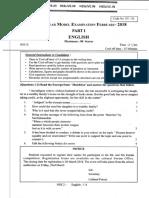 Kerala +2 Model Exam February 2018 English Part I Question paper.pdf