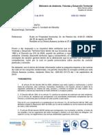 Ruido en Propiedad Horizontal, Dr. de Petición No 4120-E1-106234