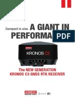 Kronos C3 Brochure April 2016