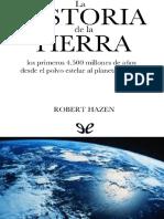 Hazen Robert - La Historia de La Tierra
