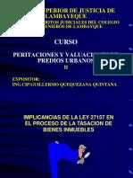 Curso Tasaciones II Implicancias Ley 27157