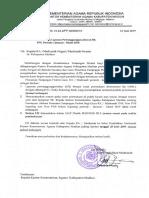 Permintaan LPJ TPG 2019
