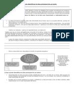 1.- Estrategia de Identificar La Idea Principal de Un Texto