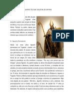 Biografia de San Agustin de Hipona