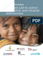 Vitamin and Mineral Deficiencies OMS Report 2009
