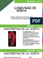 Patología Raíz de La Aorta 1