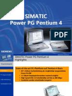 Simatic Power Pg Pentium 4
