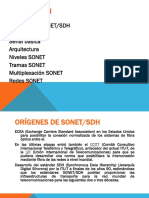 Multiplexación SDH y SONET