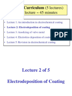 Lecture 2 Electrodeposition of Coating