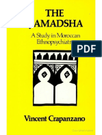 Vincent Crapanzano the Ḥamadsha a Study in Moroccan Ethnopsychiatry 1973