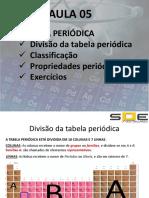 Química Geral - Aula 05