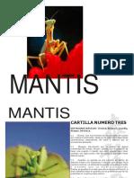 cartilla mantis 2014
