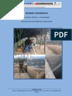 Informe Topografico Ccahuasana Setiembre