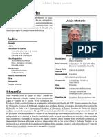 Jesús Mosterín - Wikipedia, La Enciclopedia Libre