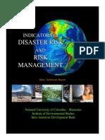 Disaster Risk Report IDEA