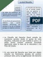 Teoria del Derecho Penal Antifilosofia-Corrientes Penales