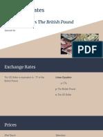 exchange rates the us dollar vs the british pound