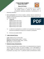 Bases Torneo Escolar Gustavo Ries