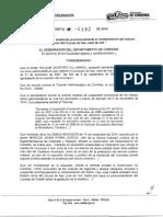 Decreto San José de Uré