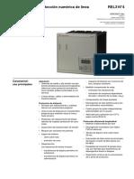Protección Numérica de Línea. REL316.4 - Autores Varios - Editorial ABB - 2002