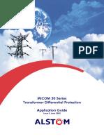 Transformer Differential Protection. Application Guide - Autores Varios - Editorial Alstom - 2003