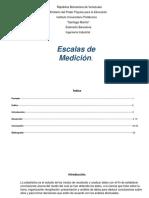 Monografía de Escalas de Medición