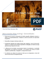 pipe jacking - tuneles