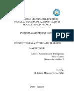 Instructivo Trabajos MKT II