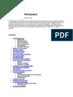 Crusades Bibliography